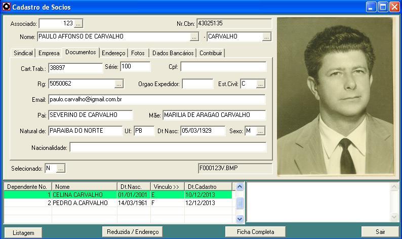 SINDIKAL – Sistema Administrativo para Sindicatos